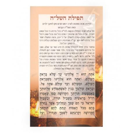 """תפילת השל""""ה (x10)"""
