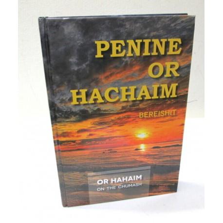 Penine Or Hachaim - Bereishit